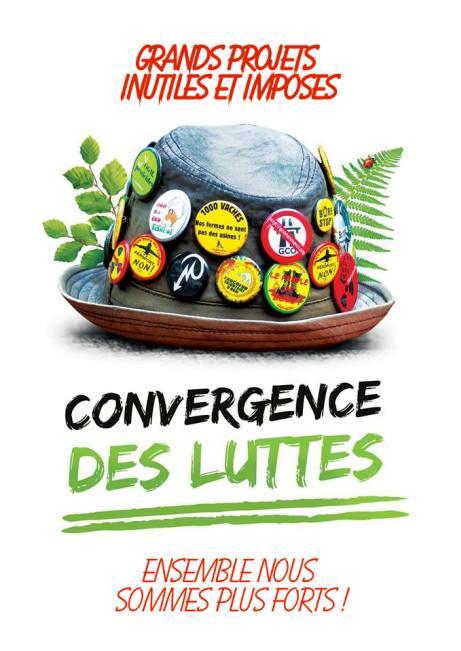 La convergence des luttes dans lutte contre les Grands Projets Inutiles et Imposés (GPII)