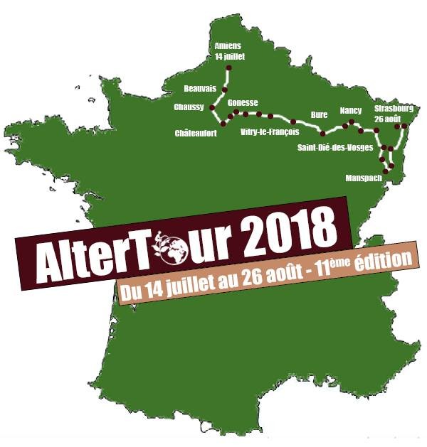 Alter Tour 2018 - Amiens - Strasbourg
