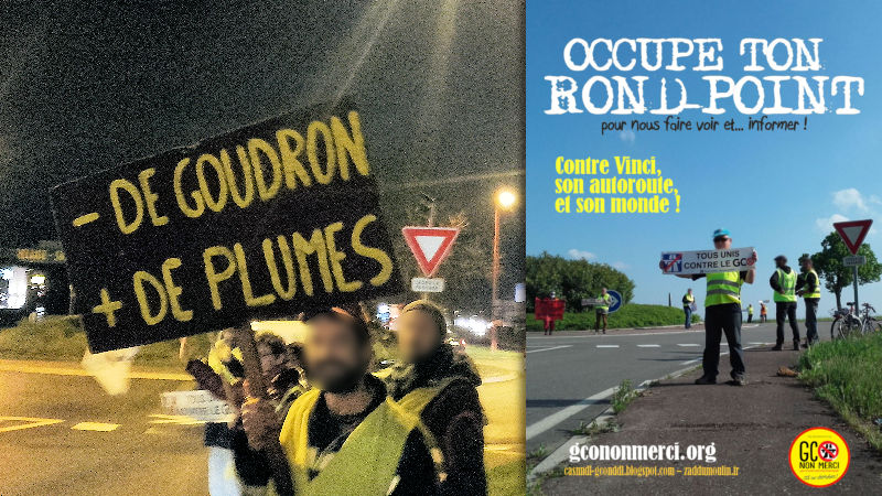 OCCUPE TON ROND-POINT